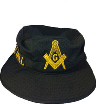 Prince Hall Mason Masonic Floppy Mesh Bucket Hat