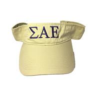 Sigma Alpha Epsilon SAE Fraternity Visor