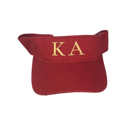 Kappa Alpha Fraternity Visor
