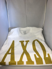 Alpha Chi Omega Sorority T-Shirt- White