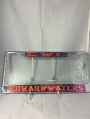 Edward Waters College Founding Year License Plate Frame