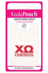 Chi Omega Sorority Koala Pouch