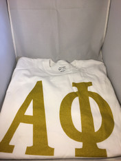 Alpha Phi Sorority T-Shirt- White