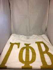 Gamma Phi Beta Sorority T-Shirt- White