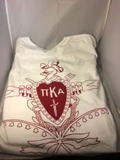 Pi Kappa Alpha PIKE Fraternity Comfort Colors Crest Shirt with Pocket