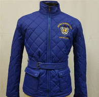 Sigma Gamma Rho Sorority Quilted Riding Jacket with Belt