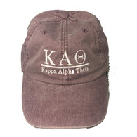 Kappa Alpha Theta Sorority Hat- Wild Plum