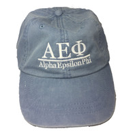 Alpha Epsilon Phi Sorority Hat- Periwinkle