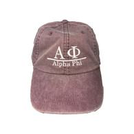 Alpha Phi Sorority Hat- Wild Plum