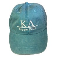 Kappa Delta Sorority Hat- Caribbean Blue