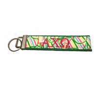 Alpha Chi Omega Sorority Key Fob- Style #4