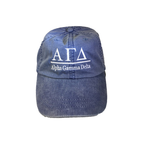 Alpha Gamma Delta Sorority Hat- Royal