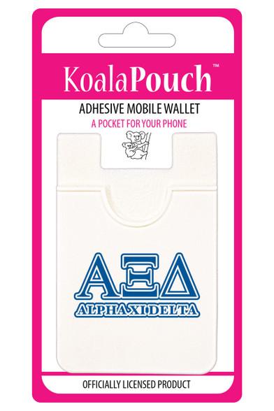 Alpha Xi Delta Sorority Koala Pouch