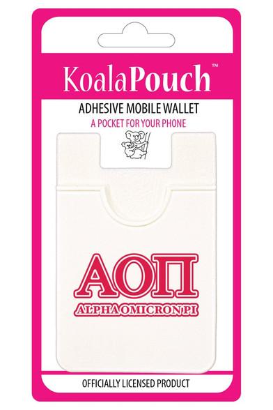 Alpha Omicron Pi Sorority Koala Pouch