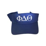 Phi Delta Theta Fraternity Visor