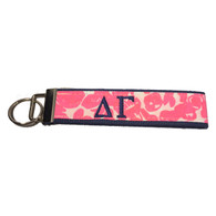 Delta Gamma Sorority Key Fob-Pattern #5