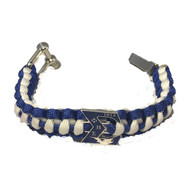 Phi Beta Sigma Fraternity Survival Paracord Bracelet with Symbol