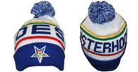 Order of the Eastern Star OES Pom Beanie
