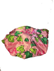 Alpha Kappa Alpha AKA Sorority Sleep Bonnet Cap- Pink