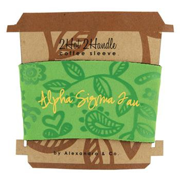 Alpha Sigma Tau Sorority Coffee Sleeve