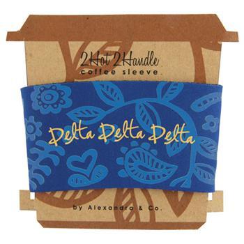 Delta Delta Delta Tri-Delta Sorority Coffee Sleeve