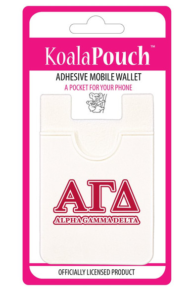 Alpha Gamma Delta Sorority Koala Pouch