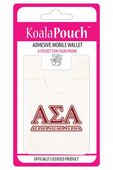 Alpha Sigma Alpha Sorority Koala Pouch