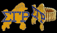 "Sigma Gamma Rho Sorority ""Stretch"" Ring"