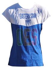 Order of the Eastern Star OES Rhinestone T-Shirt