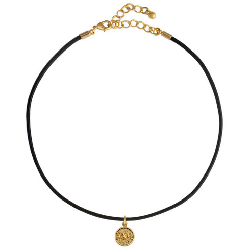 Alpha Chi Omega Sorority Choker Necklace