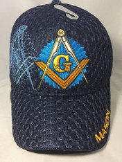 Mason Masonic Hat-Navy
