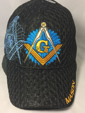 Mason Masonic Hat-Black