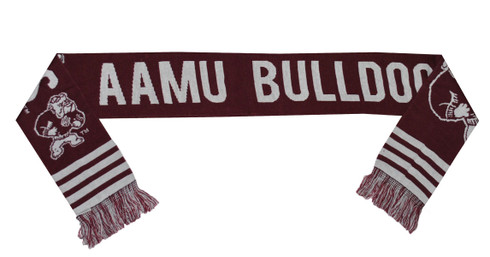 Alabama A &M University Acrylic Scarf