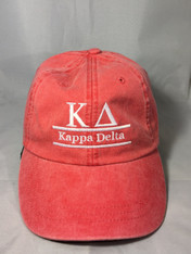 Kappa Delta Sorority Hat- Poppy