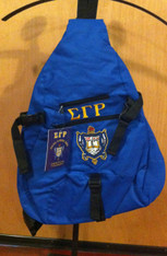 Sigma Gamma Rho Sorority Sling Shoulder Bag Backpack