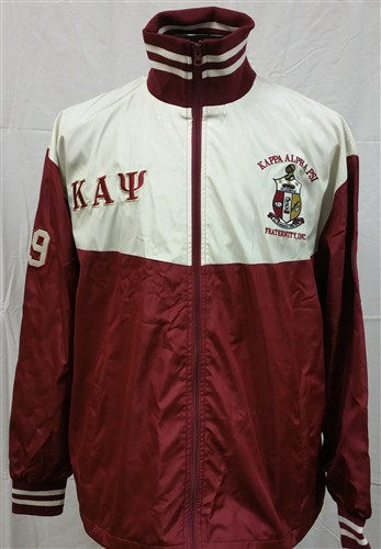 Kappa Alpha Psi Fraternity Track Jacket