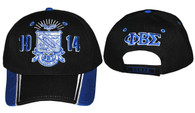 Phi Beta Sigma Fraternity Two-Tone Hat-Black