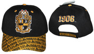 Alpha Phi Alpha Fraternity Hat with Detailed Bill