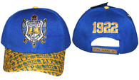 Sigma Gamma Rho Sorority Hat with Detailed Bill