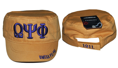 Omega Psi Phi Fraternity Captain's Hat