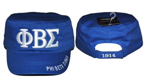 Phi Beta Sigma Fraternity Captain's Hat