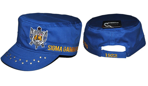 Sigma Gamma Rho Sorority Captain's Hat