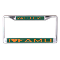 Florida A&M University FAMU License Plate Frame- Style Three