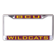 Bethune-Cookman University BCU License Plate Frame- Style Two