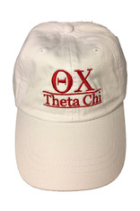 Theta Chi Fraternity Dad Hat- White