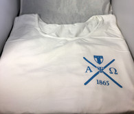 Alpha Tau Omega ATO Fraternity Tank Top- White