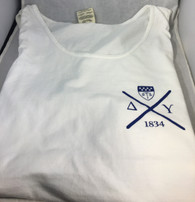 Delta Upsilon Fraternity Tank Top- White