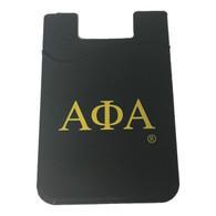 Alpha Phi Alpha Fraternity Silicone Wallet