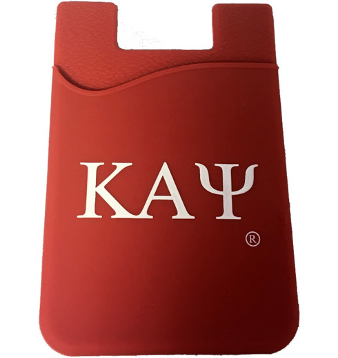 Kappa Alpha Psi Fraternity Silicone Wallet