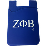 Zeta Phi Beta Sorority Silicone Wallet